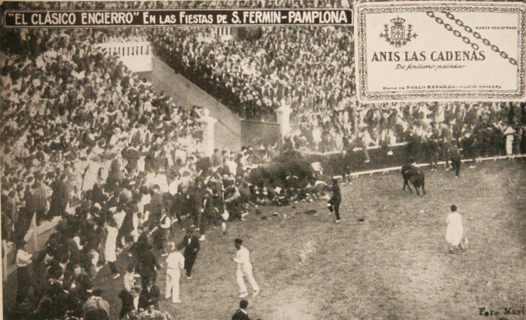 En 1922 tuvo lugar el primer montón en la actual plaza de toros.
