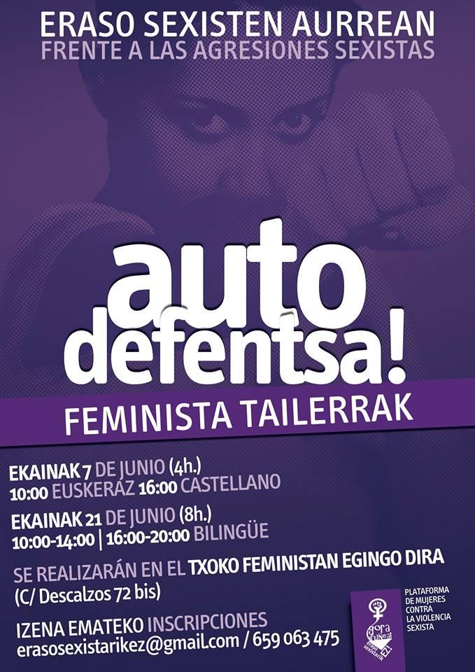 #ZEROagresiones #AutodefensaFeminista