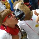 beso a caballo