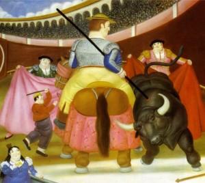 Fernando Botero. 1984. La Pica.