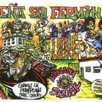 Pancarta de la Peña San Fermín Sanfermin 2015