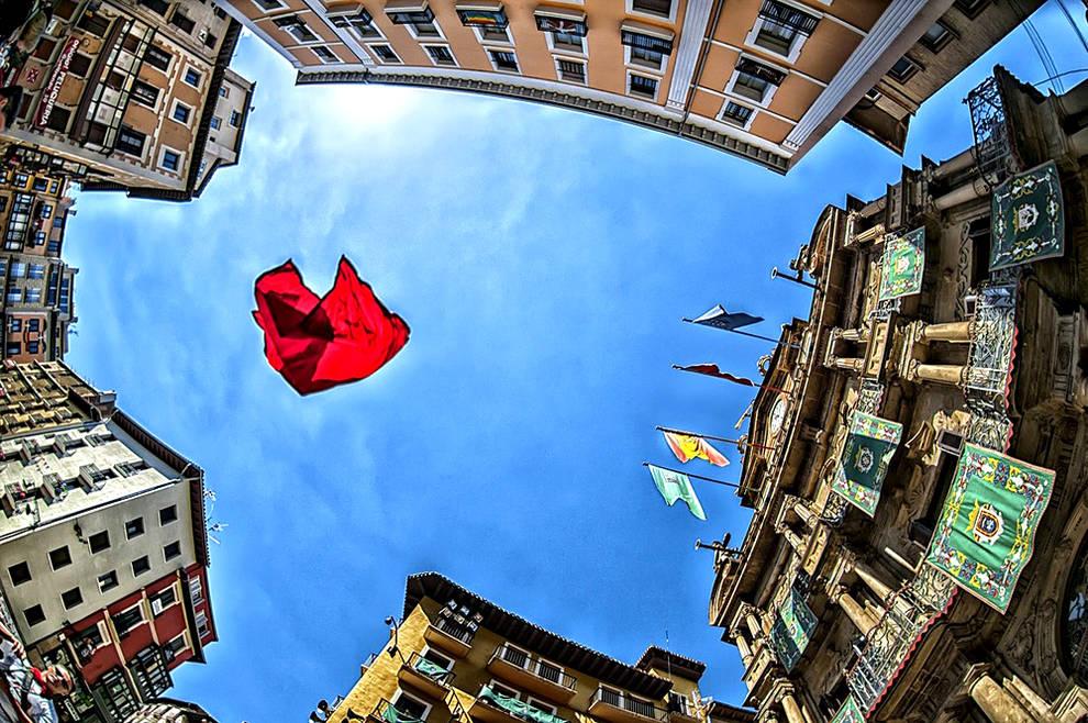 Carlos De Cos, segundo premio concurso fotográfico de Sanfermin Banco de Santander y Diario de Navarra