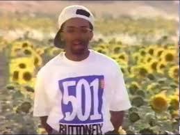 Imagen del Spot de Spike Lee que el dirigió y protagonizó con los Sanfermines de 1991 como protagonistas