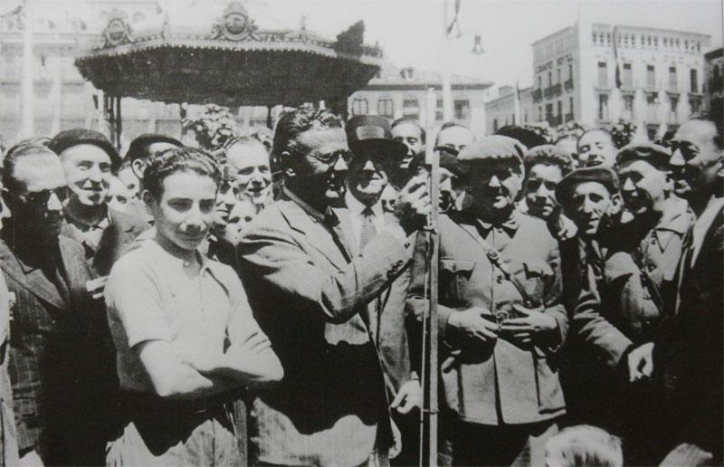 Txupinazo de 1939.