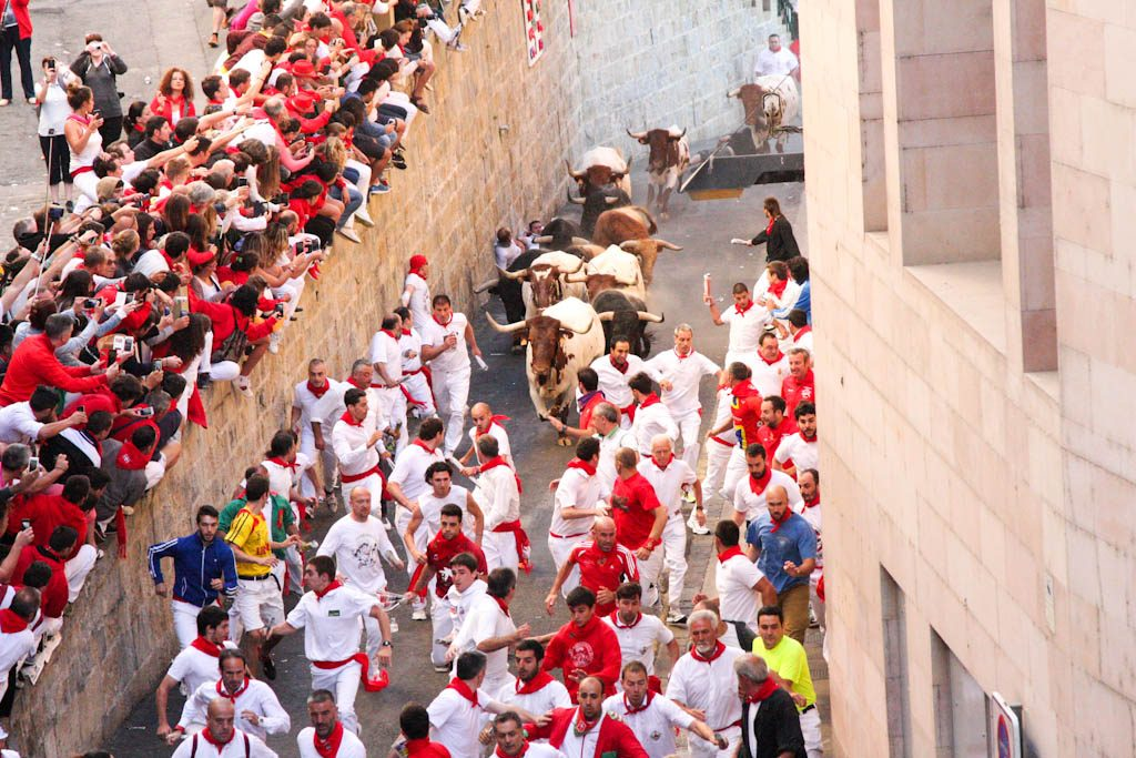 The course of the Running of the Bulls - Sanfermin.com