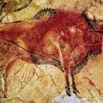 One of the paintings from the Altamira Caves, as is the one at the beginning of this piece.