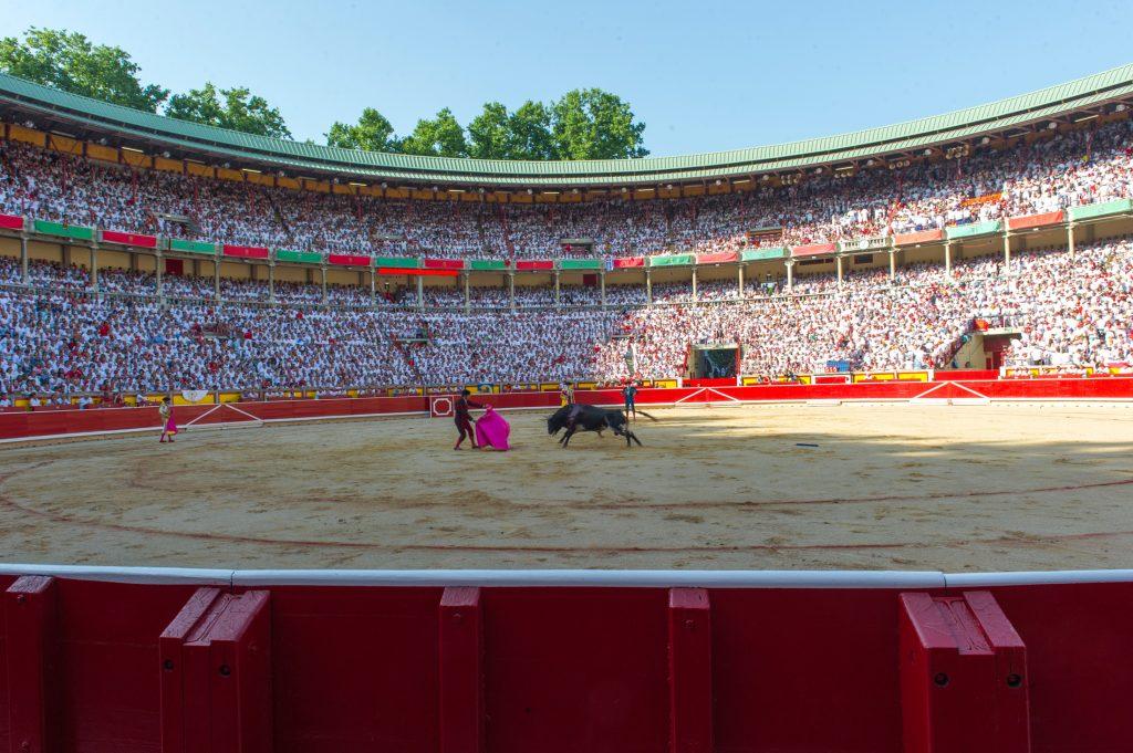 la-corrida-de-toros-en-sanfermin-general