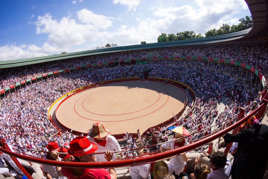 La corrida de toros en Pamplona - Sanfermin.com