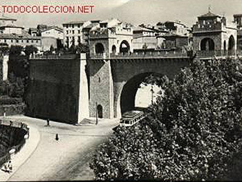 """El Portal Nuevo – The New Gateway. Although the original was actually opened around 1583, it was called """"new"""" even then."""