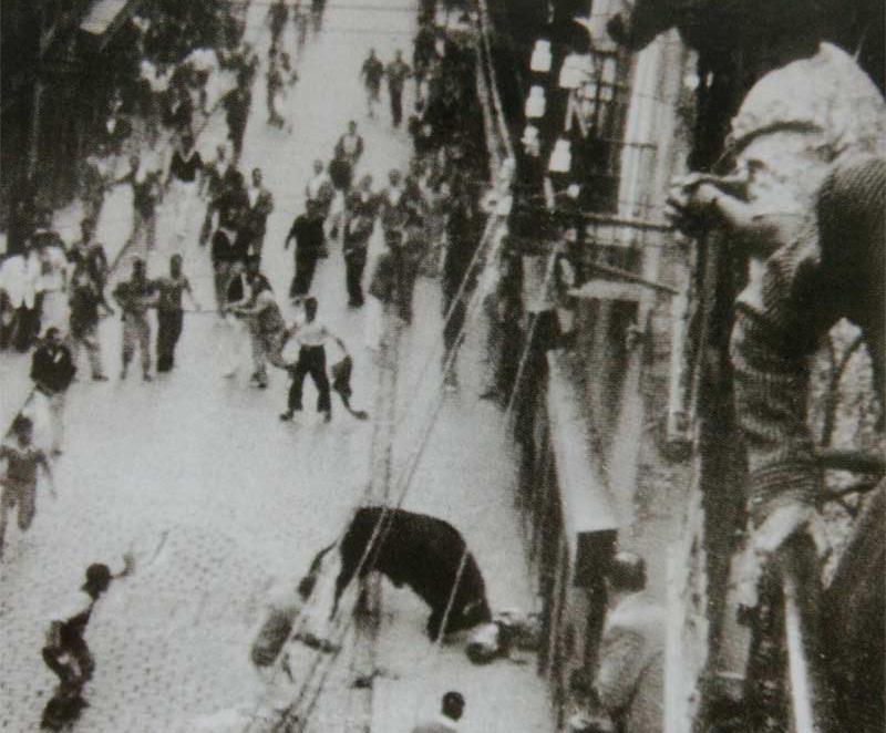 Semillero cornea a Casimiro Heredia y termina con su vida. 10 de julio de 1947.