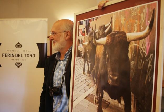 Pío Guerendiáin con Cartel de la Feria del Toro 2016