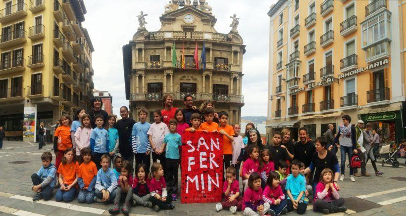 Ganadores cartel Sanfermin 2016.