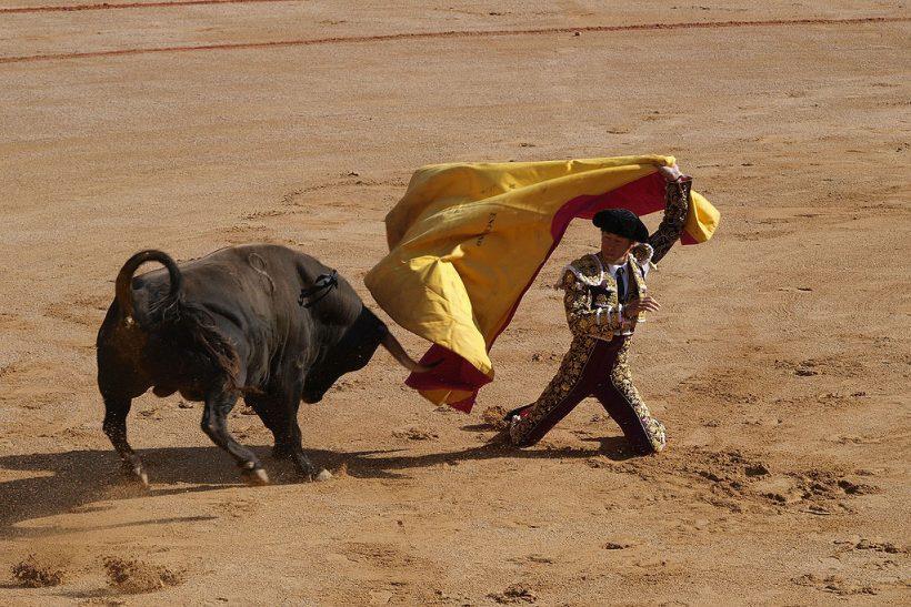 Cartel de la Feria del Toro de Sanfermin 2016.
