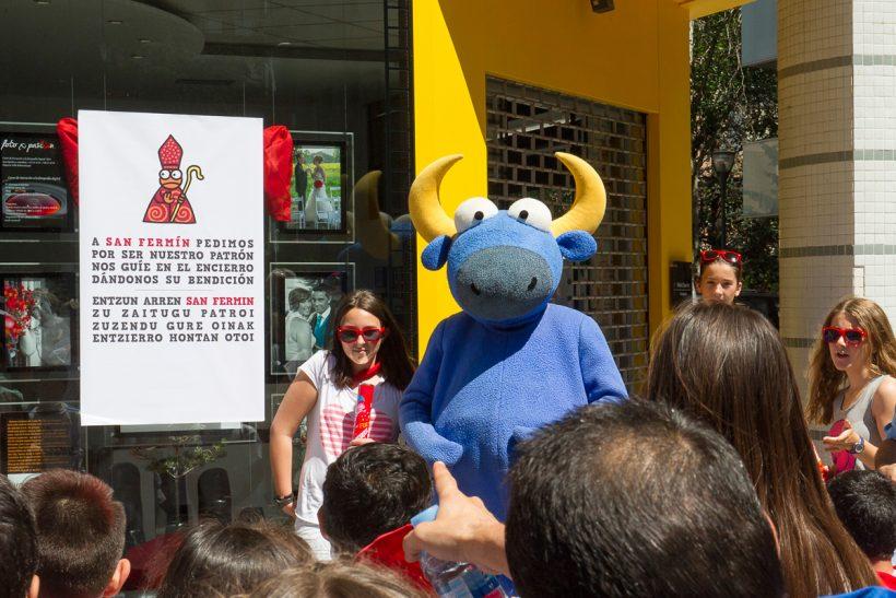 Encierro Infantil en las fiestas de Barañáin @Mikel Ciaurriz. Foto x Pasion