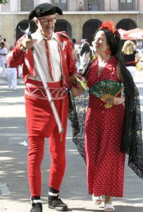 David Pierce con Lore Monig