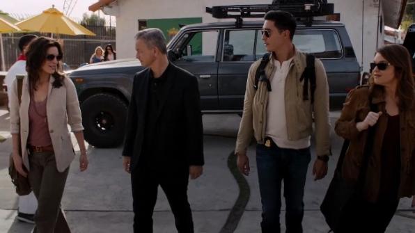 El equipo de Mentes Criminales sin fronteras en el capítulo El Toro Bravo.