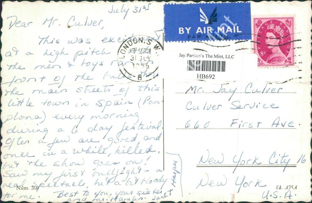 Postales de Sanfermin. Jay Culver.