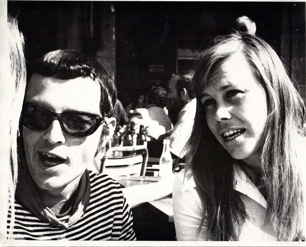 San Fermin 1969 with first wife Babz. Okay, that's all the Q's for now.