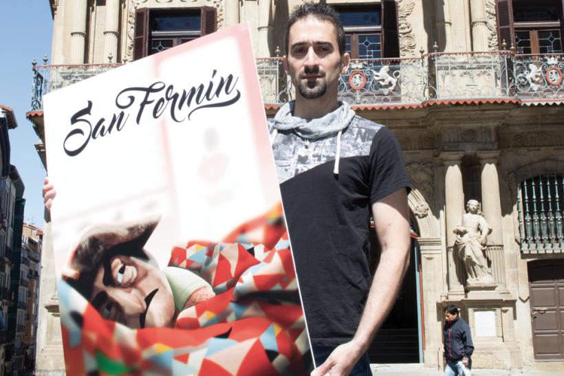 Maximiliano Cosatti será la imagen de los Sanfermines de este año tras recibir el 27,4% de los votos