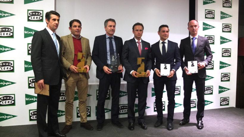 Premios ciudadela para Antonio Ferrera y Jesús Colombo y los dobladores del encierro