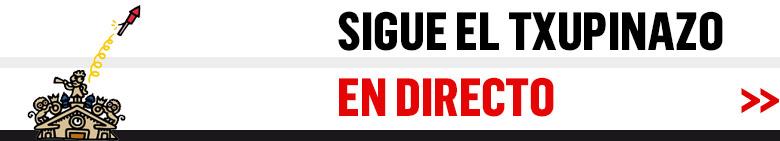Sigue el chupinazo en directo en Sanfermin.com