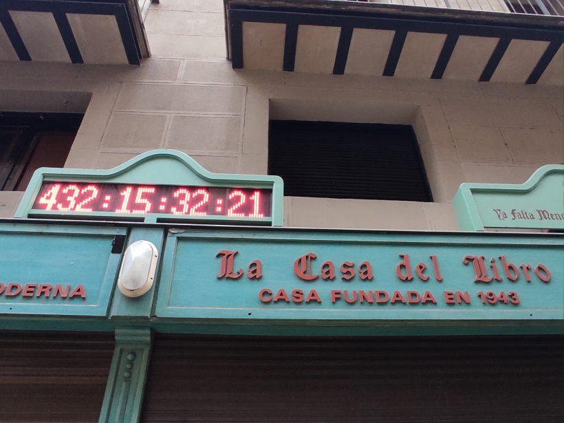 imagen del reloj de san fermin marcando 432 días para la fiesta